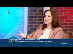 TV8 2019 Günaydın Doktor Programı, Kadınlarda İnfertilite (Kısırlık) Sebepleri Nelerdir? 2