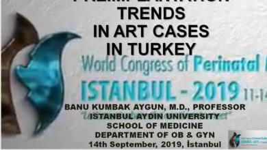 Preimplantation Trends in ART Cases in Turkey World Congress of Perinatal Medicine   September 2019, İstanbul